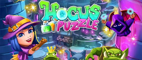 Hocus Puzzle - Join Serena in her spellbinding quest to restore magic to the world and to stop the evil witch, Circe!