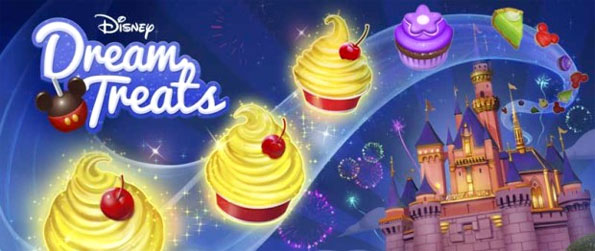 Disney Dream Treats - Match all the sweet treats and make delicious deserts while you meet and work with your favorite Disney characters to earn as many points as you can in the set time.
